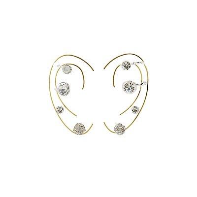 Ear Cuffs & Stud Earrings Set