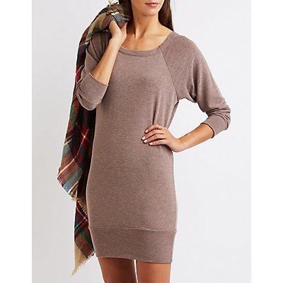 Raglan Sweatshirt Dress