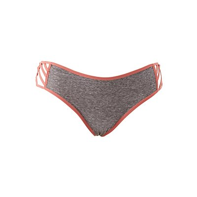 Plus Size Caged Hipster Panties