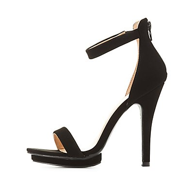 Two-Piece Platform Dress Sandals