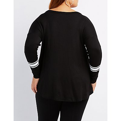 Plus Size Brooklyn Baby Graphic Tee