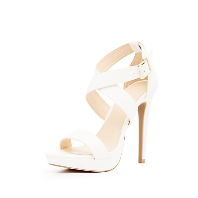 Three-Piece Crisscross Dress Sandals