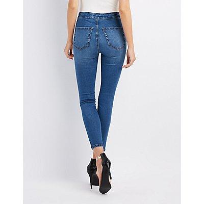 Refuge Hi-Rise Skinny Jeans