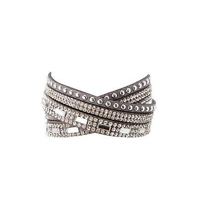 Embellished Wrap Bracelet