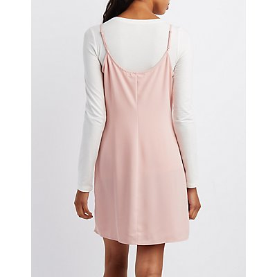 Slip Shift Dress