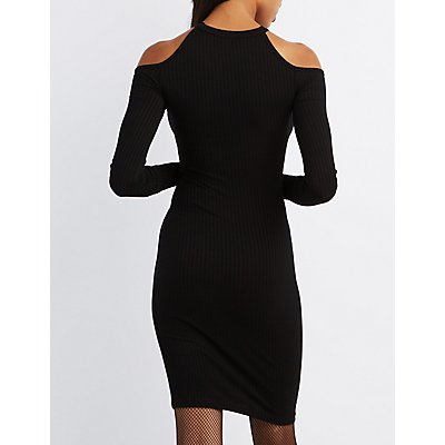 Cut-Out Sides Bodycon Dress