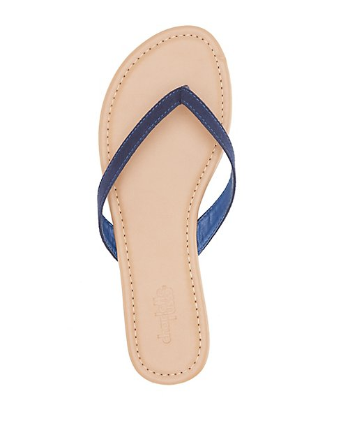 279f81890982 Faux Suede Thong Sandals