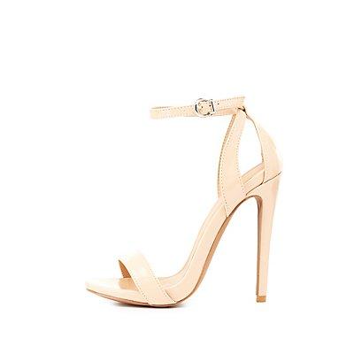 Two-Piece Cut-Out Dress Sandals