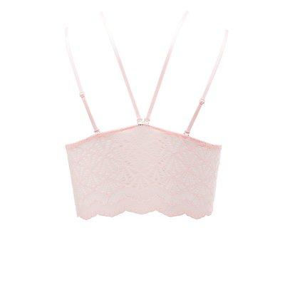 Lace Convertible Longline Bralette
