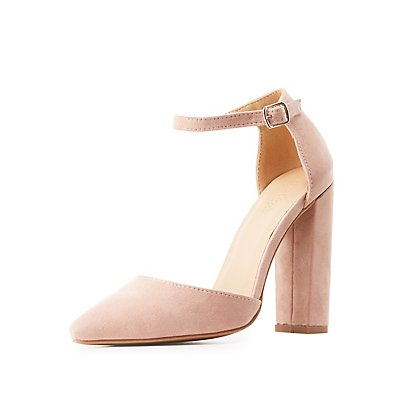 Pointed Toe D'Orsay Heels