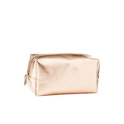 Metallic Make-Up Bag