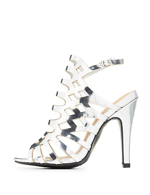 d5273e2d55a2 Wide Width Laser Cut Dress Sandals