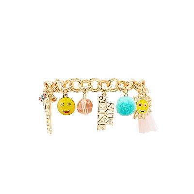 Hello Sunshine Charm Bracelet