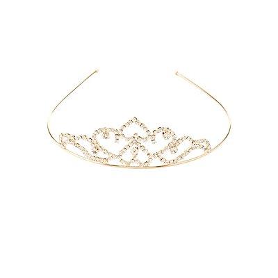 Rhinestone Tiara Headband