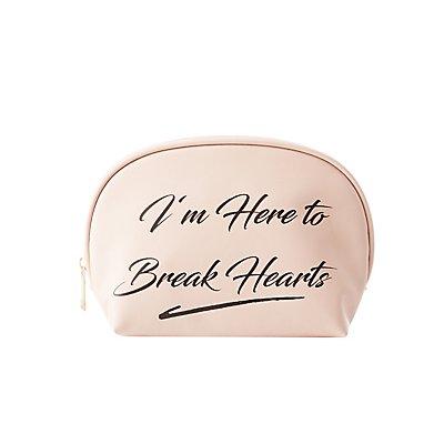 Heart Breaker Makeup Bag