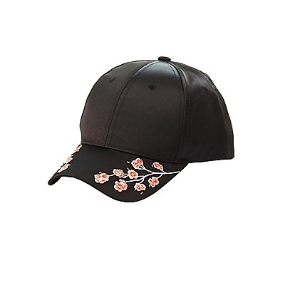Satin Embroidered Baseball Hat
