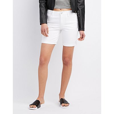 Refuge Denim Bermuda Shorts