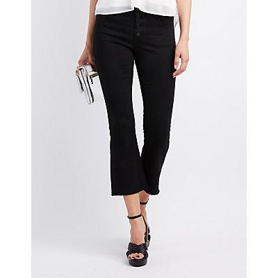 Refuge Cropped Flare Jeans