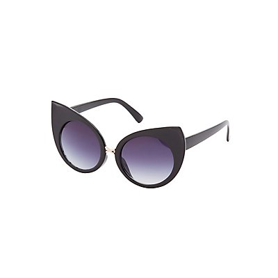 Pointed Cat Eye Sunglasses