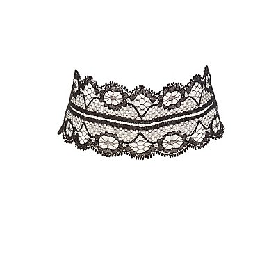 Plus Size Lace Choker Necklace