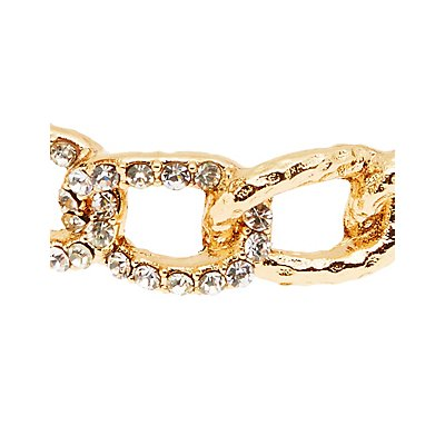Plus Size Chain Cuff Bracelet