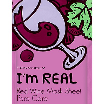 TONYMOLY Pore Care Red Wine Face Mask