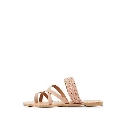 Braided Slide Sandals