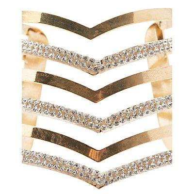 Plus Size Caged Cuff Bracelet