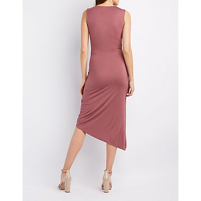 Knotted Asymmetrical Dress