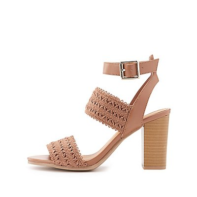 Crochet Three-Piece Sandals
