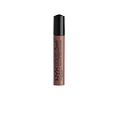Brooklyn Thorn NYX Professional Makeup Liquid Suede Cream Lipstick