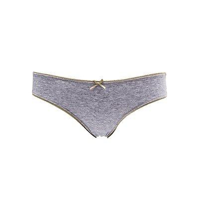 Lace-Back Cheeky Panties