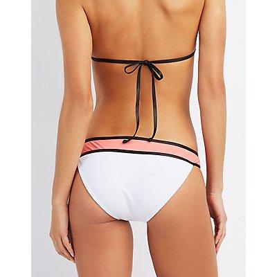 Colorblock Bikini Bottoms