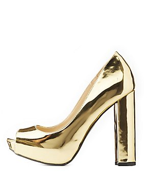 Metallic Platform Pumps