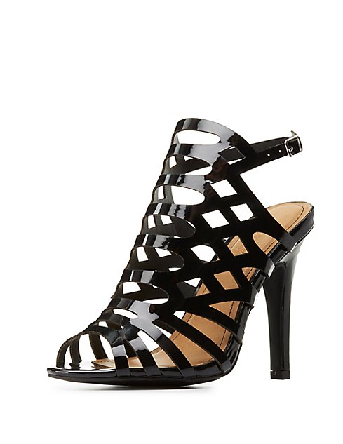 8a83e06ab50a ... Wide Width Laser Cut Dress Sandals