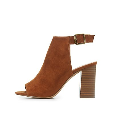 Peep Toe Slingback Sandals