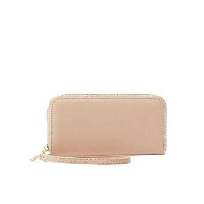 Zip-Around Wristlet Wallet