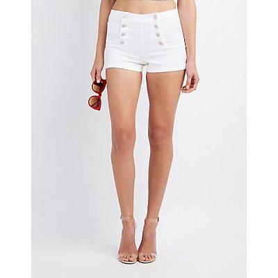 Button-Up Sailor Shorts