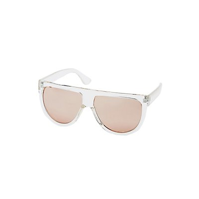 Reflective Shield Sunglasses