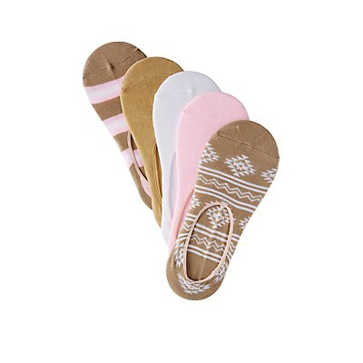 Assorted Tribal Shoe Liners - 5 Pack