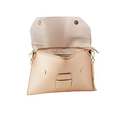 Convertible Flap Tab Clutch