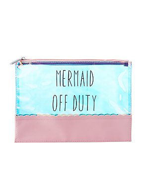 Mermaid Off Duty Zip Pouch