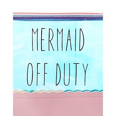 Mermaid Off Duty Zip Pouch