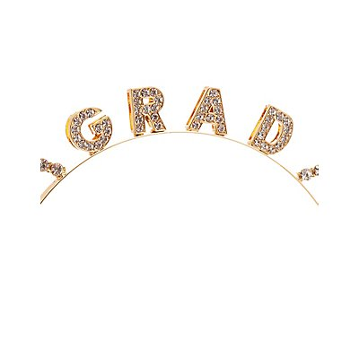 Embellished Grad Cat Ear Headband