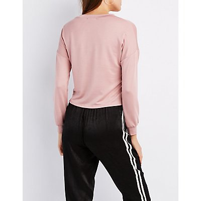 Paris Crew Neck Sweatshirt