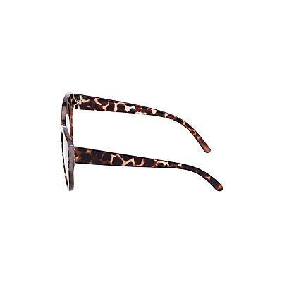 Tortoise Shell Cat Eye Sunglasses