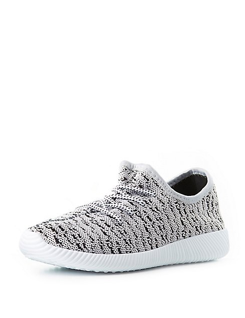 lace-up knit sneakers 2018 Newest Best Place Online Discount Cost Discount Sale Where To Buy 3CiBc