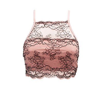 Lace Bib Neck Bralette
