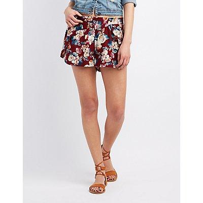 Floral Tulip Shorts