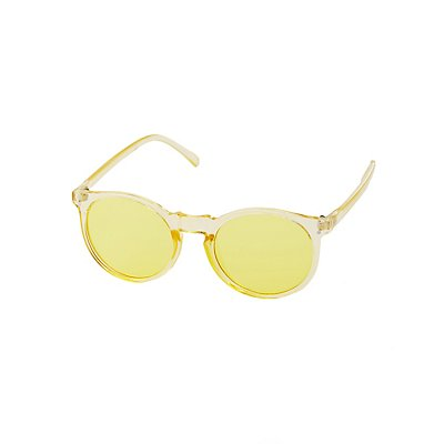 Clear Round Sunglasses